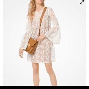 Michael Michael Kors Lace bell sleeve dress